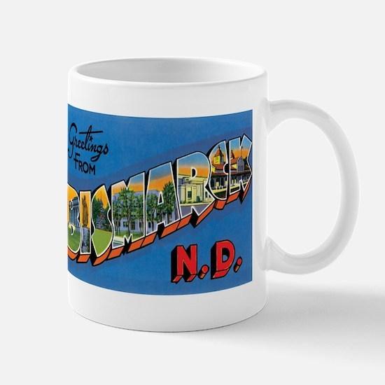 Bismarck North Dakota ND Mug