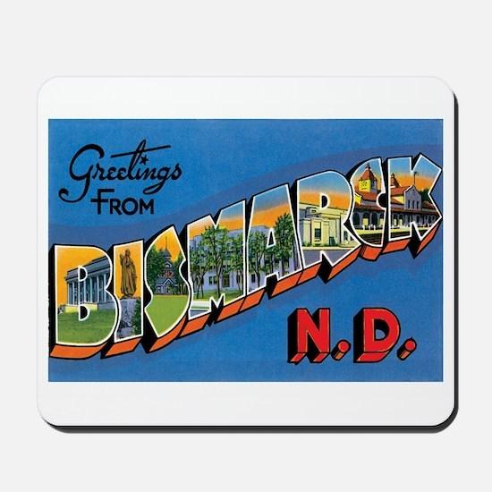 Bismarck North Dakota ND Mousepad
