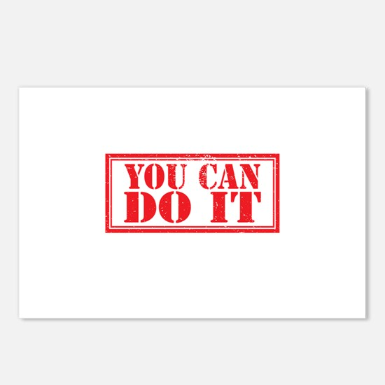 you can do it Postcards (Package of 8)