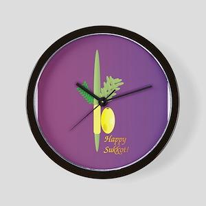 Sukkot Wall Clock