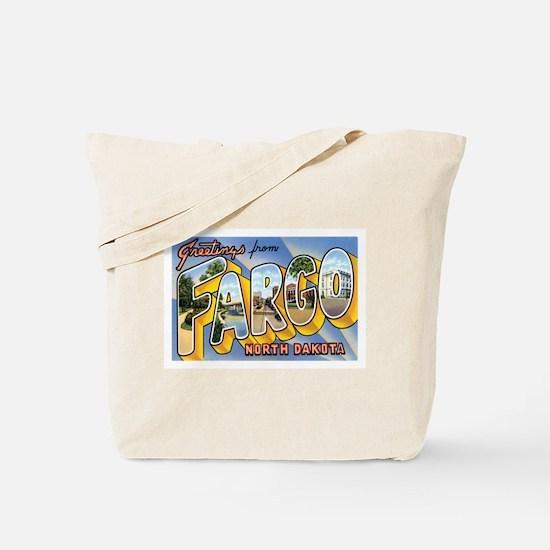 Fargo North Dakota ND Tote Bag