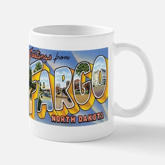 Fargo North Dakota ND Mug