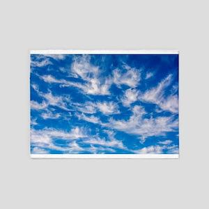 Cirrus Clouds 5'x7'Area Rug