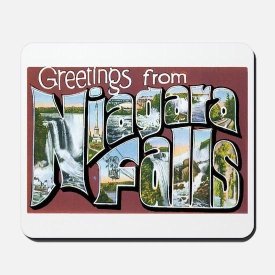 Niagara Falls New York NY Mousepad