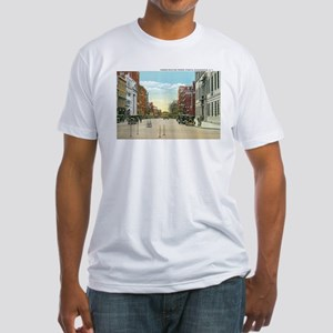 Poughkeepsie New York NY Fitted T-Shirt