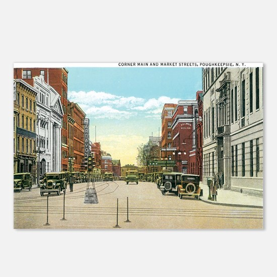 Poughkeepsie New York NY Postcards (Package of 8)