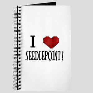 I love needlepoint! Journal