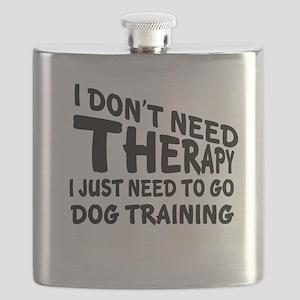 I Just Need To Go Dog Training Flask