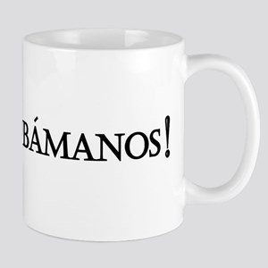 Obamanos_black letters Mug