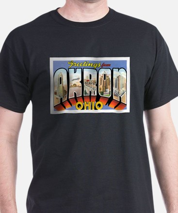 Akron Ohio OH T-Shirt
