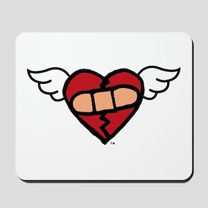 """Winged Heart"" Mousepad"