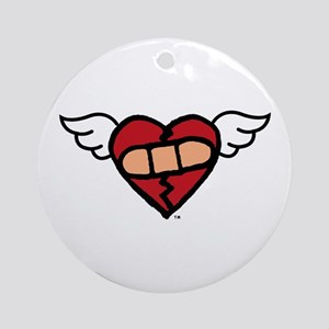 """Winged Heart"" Keepsake (Round)"