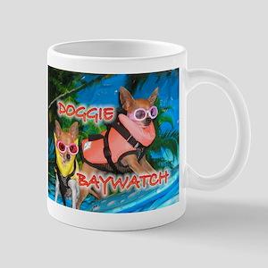 Doggie Baywatch Mug