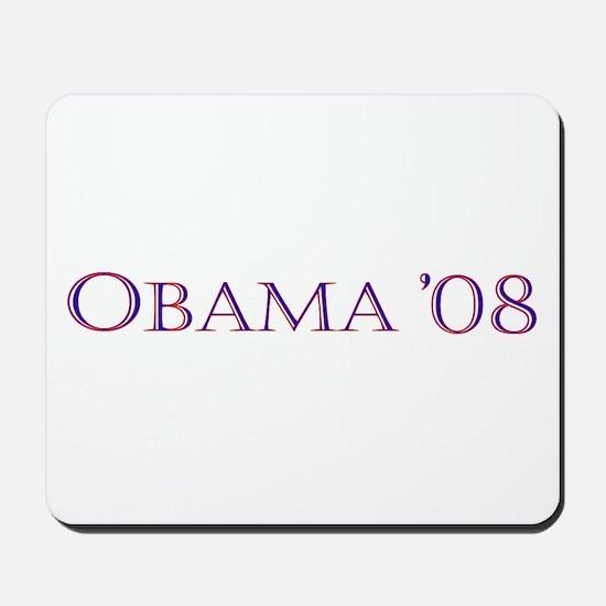 Obama08 Mousepad