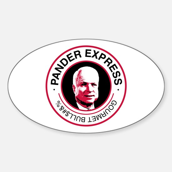 Pander Express Oval Decal