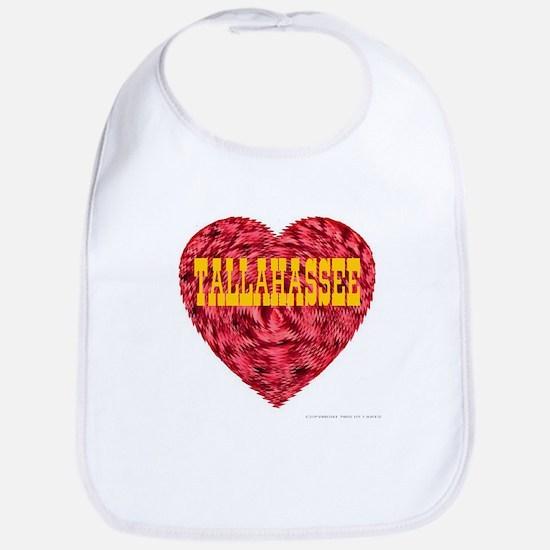 Tallahassee Heart Bib