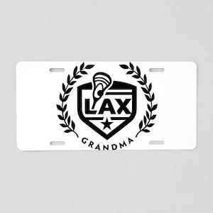 LAX Grandma Aluminum License Plate