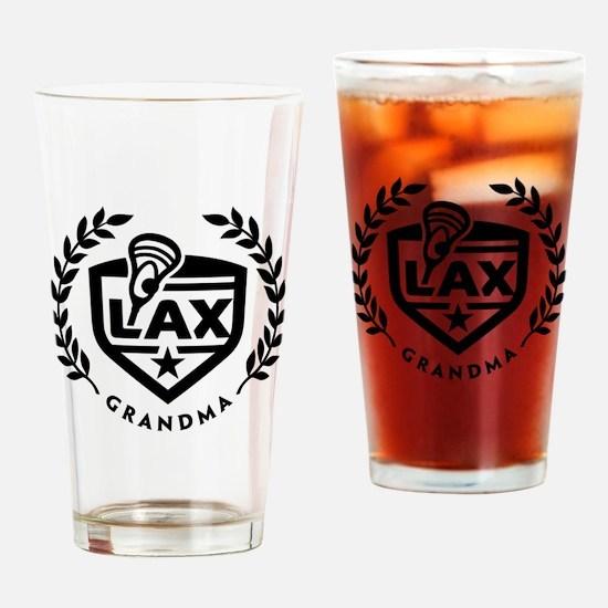 LAX Grandma Drinking Glass
