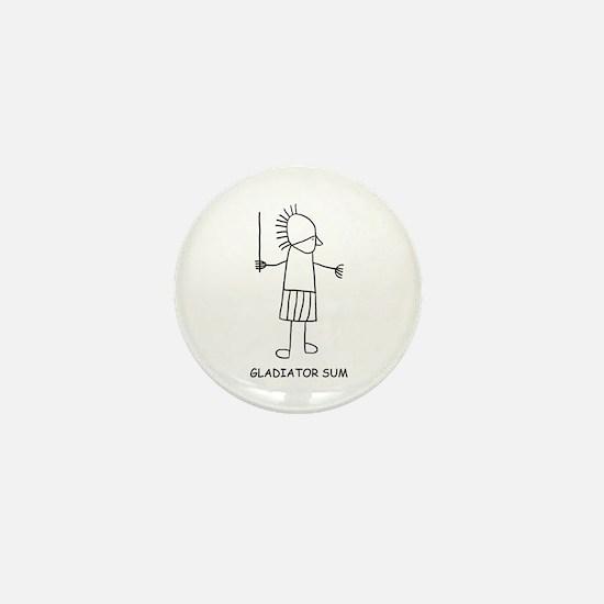 Gladiator Sum Mini Button