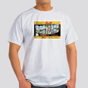 Portland Oregon OR Light T-Shirt