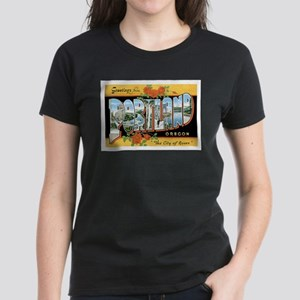 Portland Oregon OR Women's Dark T-Shirt