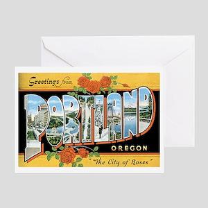 Portland Oregon OR Greeting Card