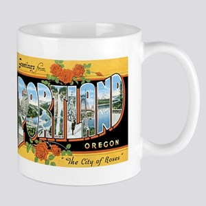 Portland Oregon OR Mug