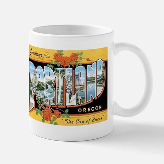 Portland Oregon OR Mug