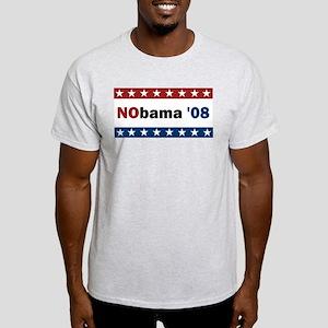 NObama '08 Light T-Shirt