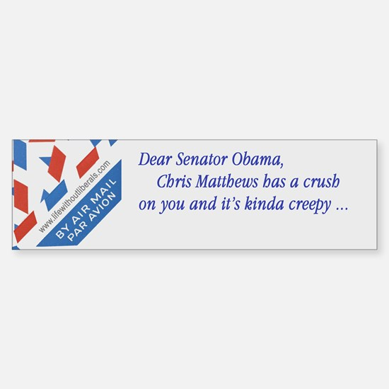 Obama-Chris Matthews bumper sticker