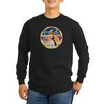 XmasStar/Beagle 2 Long Sleeve Dark T-Shirt