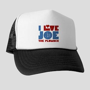 I Heart Joe the Plumber Trucker Hat
