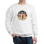 XmasStar/Cattle Dog Sweatshirt
