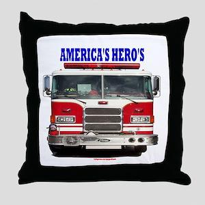 AMERICA'S HERO'S Throw Pillow
