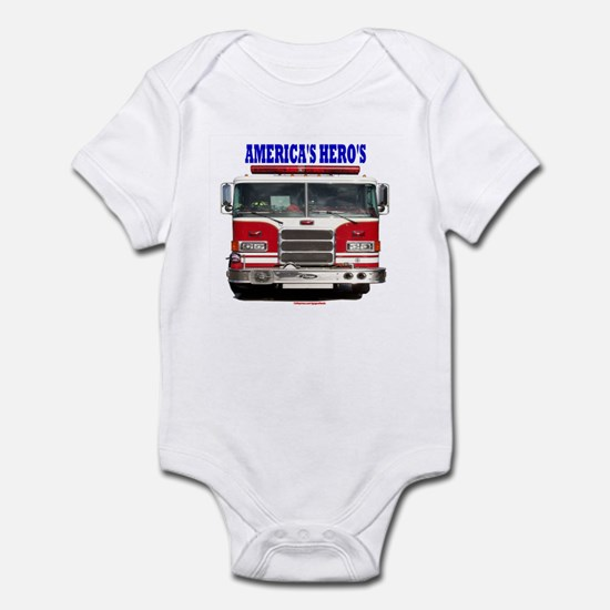 AMERICA'S HERO'S Infant Bodysuit