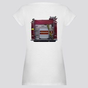 PIERCE FIRE TRUCK Maternity T-Shirt