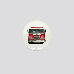 PIERCE FIRE TRUCK Mini Button