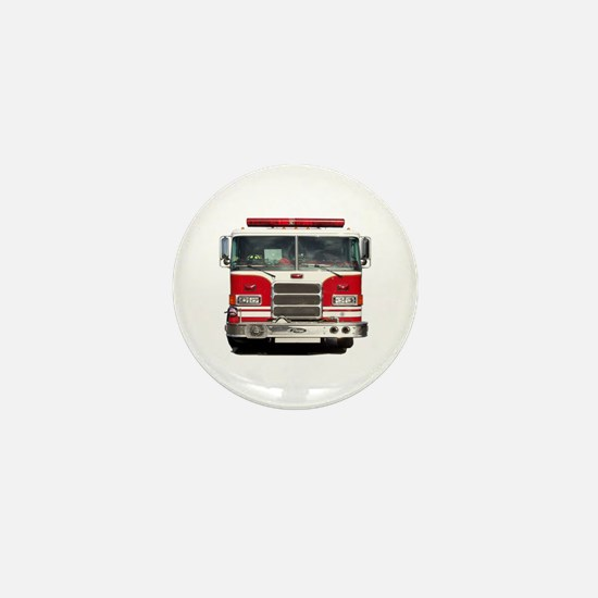 PIERCE FIRE TRUCK Mini Button