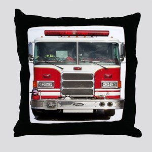 PIERCE FIRE TRUCK Throw Pillow