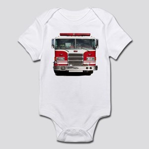 PIERCE FIRE TRUCK Infant Bodysuit