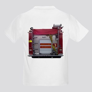 PIERCE FIRE TRUCK Kids Light T-Shirt