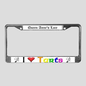 Heart Tarts License Plate Frame