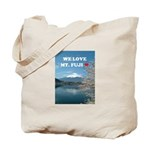 We Love Mt. Fuji Tote Bag