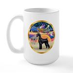 XmasStar/Schnauzer G Large Mug
