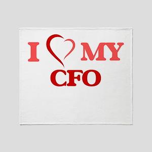 I love my Cfo Throw Blanket