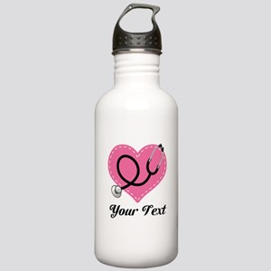 Personalized Nurse Doctor Gift Water Bottle