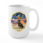 XmasStar/Rottie #3 Large Mug