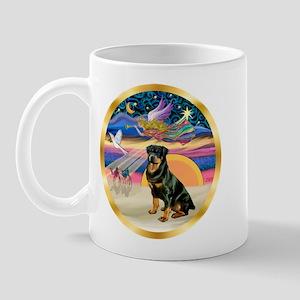 XmasStar/Rottie #3 Mug