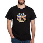 XmasStar/Rottie #3 Dark T-Shirt