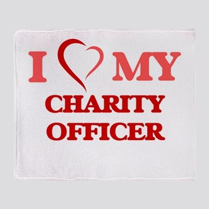 I love my Charity Officer Throw Blanket